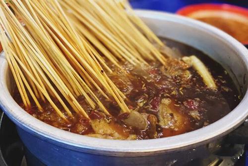 摆摊水煮串串香的配料