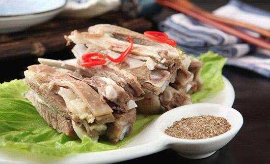 西北年夜饭菜谱之手抓羊肉