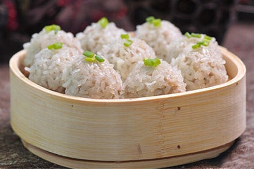 年夜饭菜谱之荷香珍珠丸