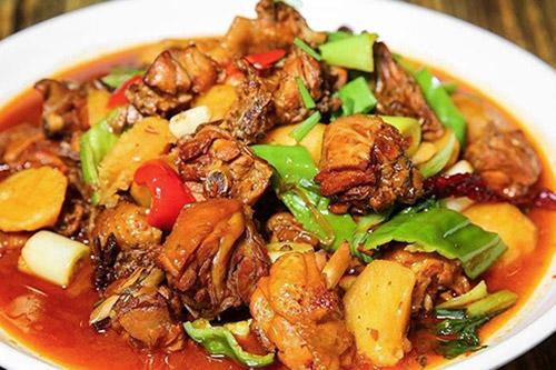 西北年夜饭菜谱之大盘鸡