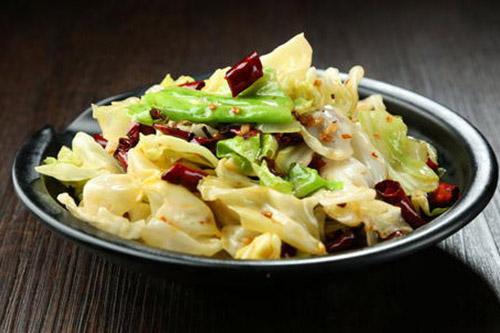 家常年夜饭菜谱之炝炒圆白菜