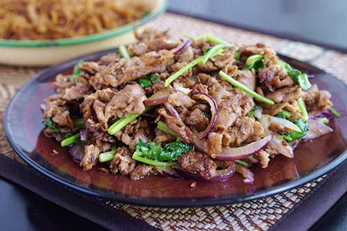 西北年夜饭菜谱之孜然羊肉