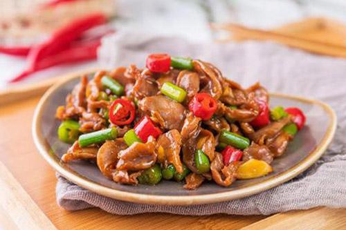家常年夜饭菜谱之脆辣鸡胗