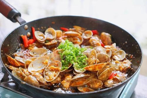 家常年夜饭菜谱之沙茶炒花蛤