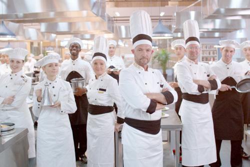 西餐后厨学徒好干吗
