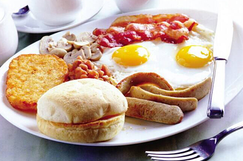 学生早餐, 不只要吃饱, 还要营养均衡。