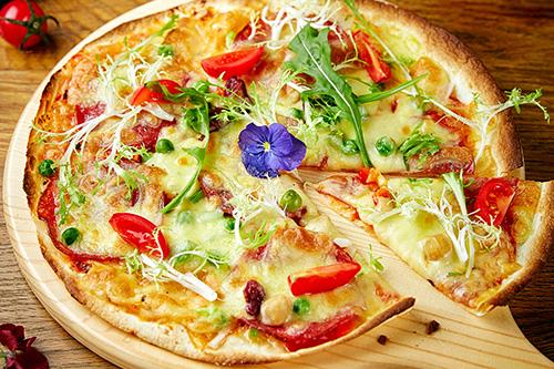 巴厘岛风味披萨