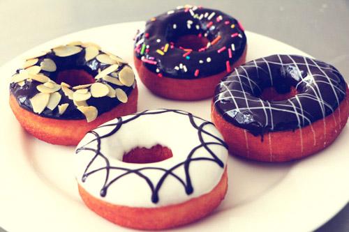 可爱甜甜圈